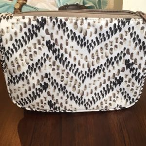 NEW Thirty-One gifts Hello Happy cosmetic bag